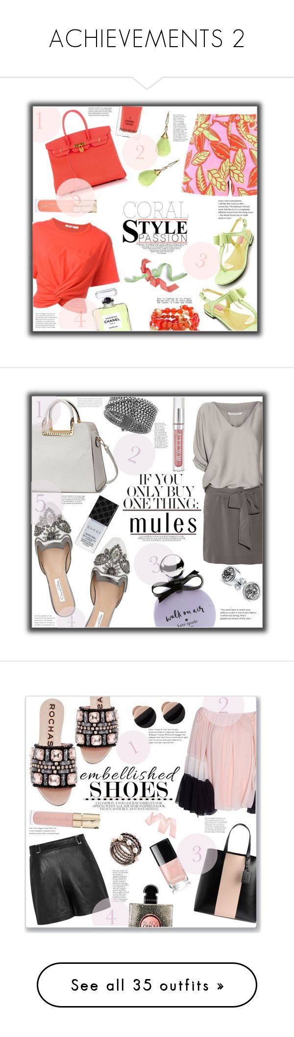 """""""ACHIEVEMENTS 2"""" by jckallan ❤ liked on Polyvore featuring Boutique Moschino, Alexander Wang, Isaac Mizrahi, Hermès, Chico's, Chanel, Yves Saint Laurent, Smith & Cult, contestentry and Oscar de la Renta"""