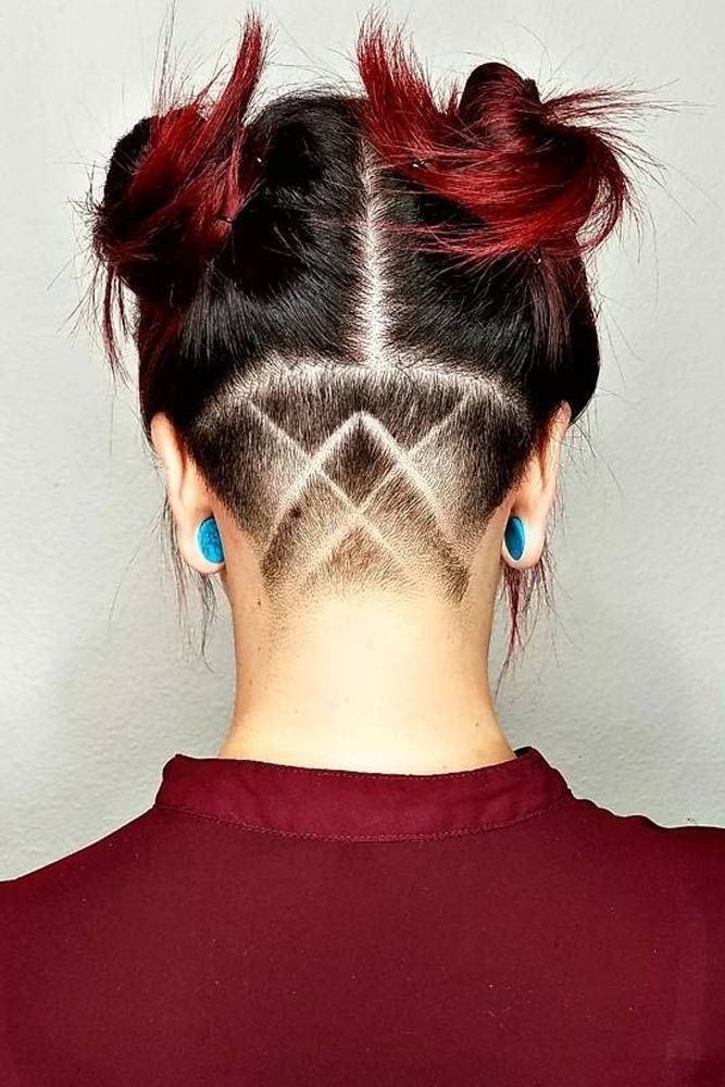 undercut styles hair undercut hairstyle neck 4351