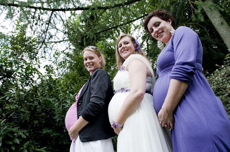 #pregnantbride #pregnantwoman #dutchwedding #dresses  Photo by Sjoerd Banga, © Banganimation