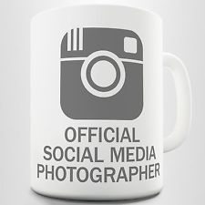 Official Social Media Photographer Coffee Mug