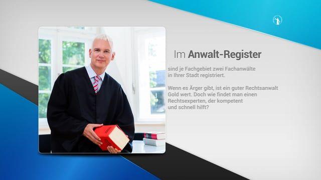 Mehr Info unter http://www.biz-tv.net/anwalt-register.de?tid=pin - Anwalt Register de - Anwalt finden für Erbrecht, Verkehrsrecht, Arbeitsrecht, Strafrecht in Hamburg Anwalt-Register.de ist das Anwaltssuchportal im Internet , um einen Fachanwalt in Ihrer Nähe zu finden. Über http://Anwalt-Register.de?tid=pin finden Sie einen erfahrenen Fachanwalt für Ihr Rechtsgebiet.   Im Anwalt-Register finden Sie kompetente Fachanwälte in Ihrer Nähe.