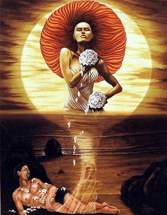 L'origine de l'imposture | Atelier Le Chartier # 06 Anciennement, dans la mythologie Grec: Séléné déesse de la lune, sœur du soleil...représentée sous les traits d'un belle femme rousse....