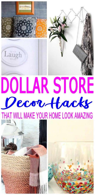 Diy Dollar Store Hacks Diy Crafts Easy Diy Crafts Diy Home