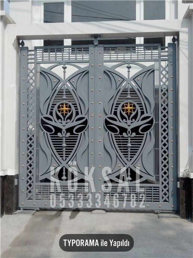 Wrought Iron Gates Iron Gates Doormodels Villasclosures Seal Doors Iron Gate Design Wrought Iron Gates House Gate Design