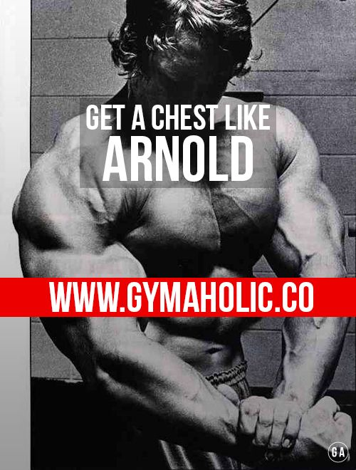 Build a chest like Arnold Schwarzenegger !  http://www.gymaholic.co/workouts/build-a-big-chest-like-arnold-schwarzenegger  #fit #fitness #fitblr #fitspo #gym #gymaholic #workouts #nutrition #supplements