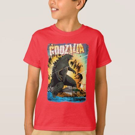 Godzilla Smashing City 2 T-Shirt - tap, personalize, buy right now!