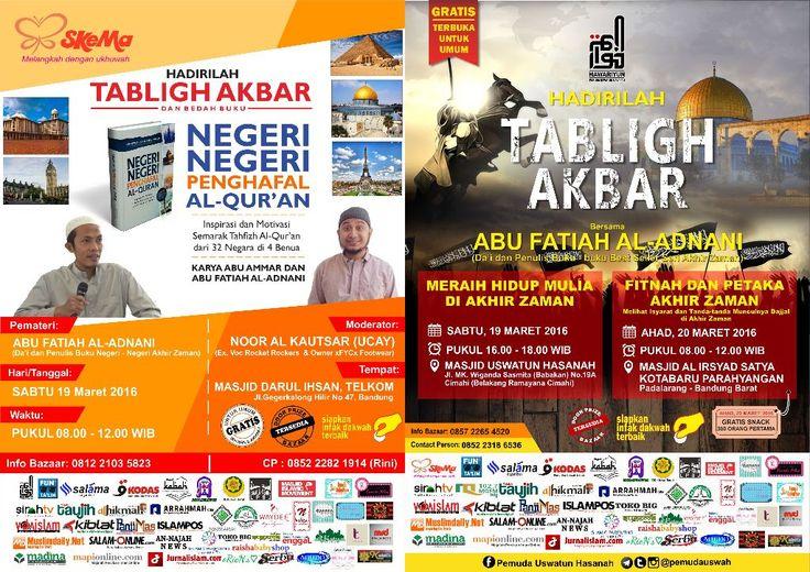 Pamflet Tabligh Akbar Abu Fatiah Al-Adnani