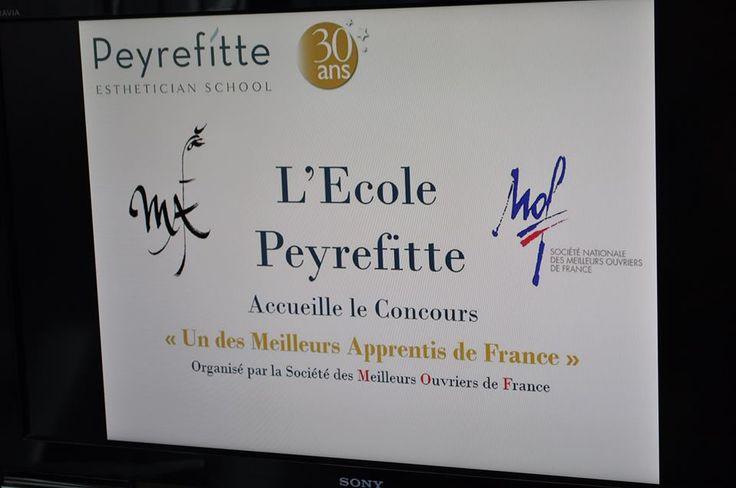 """Peyrefitte Esthétique - Accueil du Concours """"Meilleurs Apprentis de France"""""""