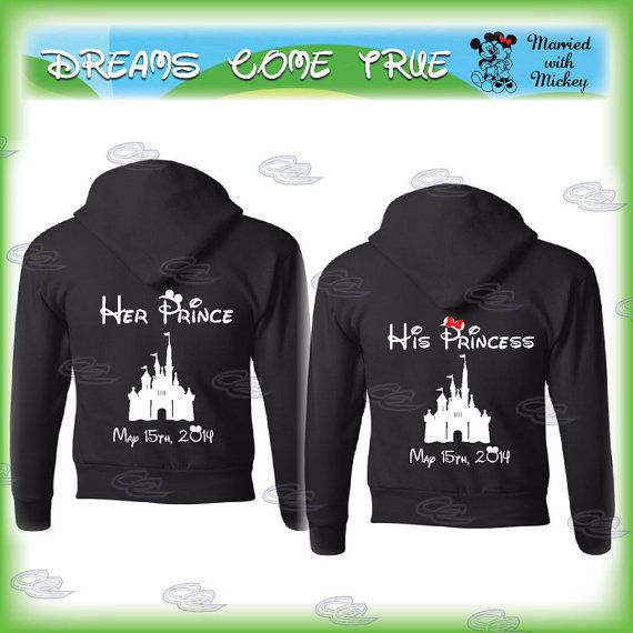 46496f2aa9 mickey minnie mouse disney matching couple shirts, princess and prince,  disney castle with your ...