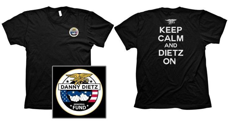Order Danny Dietz Merchandise - www.NavySealDannyDietz.com