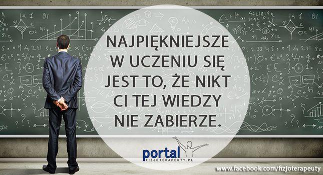 Sama prawda :) #motywacja #nauka #wiedza #fizjoterapia