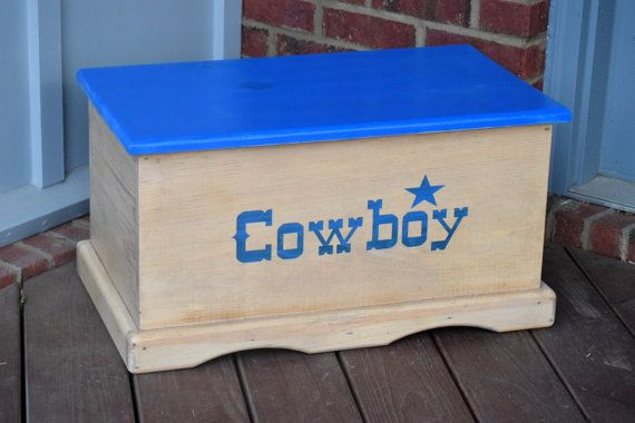 Hey, I found this really awesome Etsy listing at https://www.etsy.com/au/listing/256512282/cowboy-toy-box-kids-toy-chest-keepsake