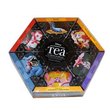 alice in wonderland disney merchandise | Disney Alice in Wonderland 6 Pack Tea Sampler Pak by Magical Memories ...