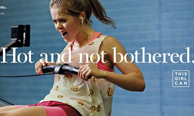 Sport England launches fitness campaign to encourage women to take up sport and exercise This Girl Can campaign aims to dispel belief that exercise is for those already fit, skilled and thin