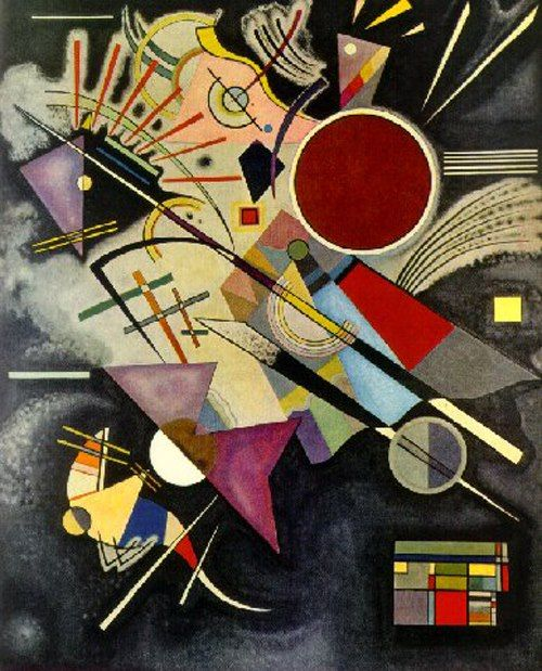 Red Circle  Wassily Kandinsky - Undoubtedly one of my favourite Abstract artists!