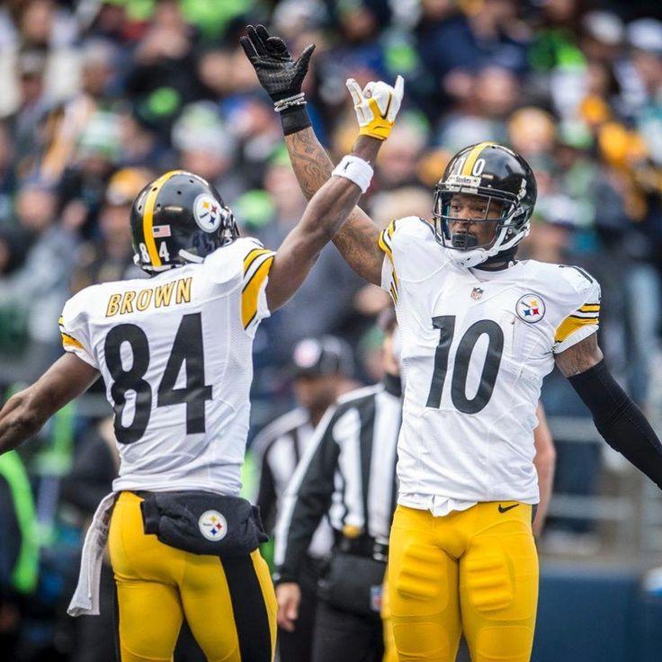 Steelers Antonio Brown and Martavis Bryant
