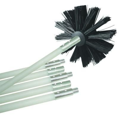 RIDGID 2-1/2 in. Gutter Cleaning Accessory Kit for RIDGID Wet Dry ...