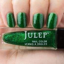 Julep - Cher (May 2015 birthstone) emerald iridescent shimmer