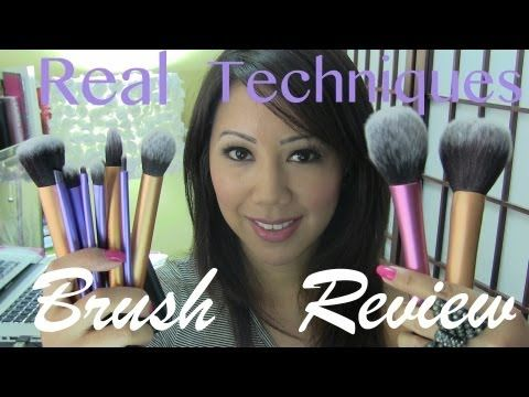Great review, I will be trying out this line of makeup brushes. Real Techniques Brush Review