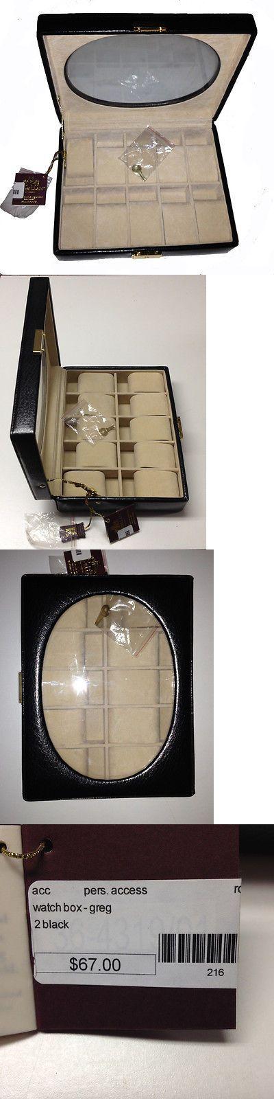 Watch 168164: Rowallan Leather Watch Box -> BUY IT NOW ONLY: $33.5 on eBay!