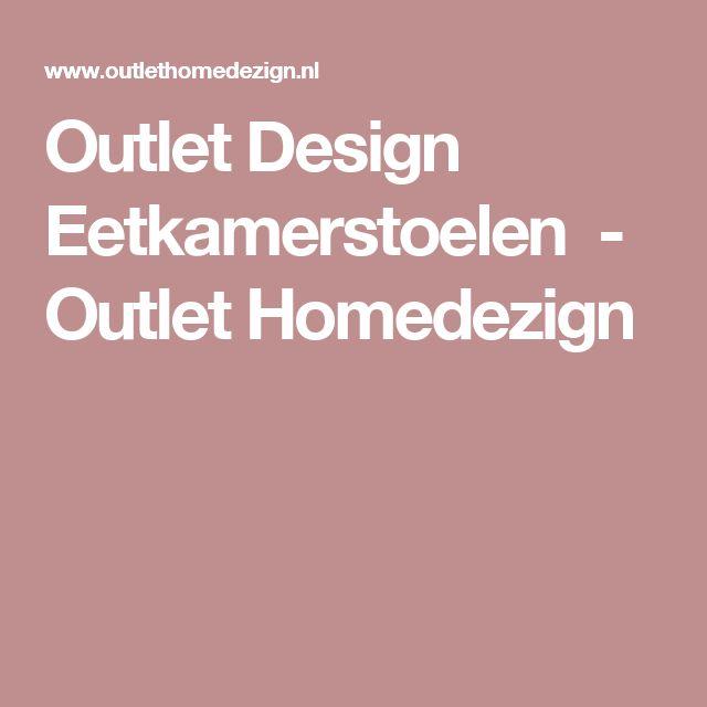 Outlet Design Eetkamerstoelen               -         Outlet Homedezign