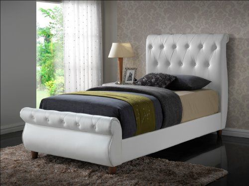 Modern Headboard Tufted Design Leather