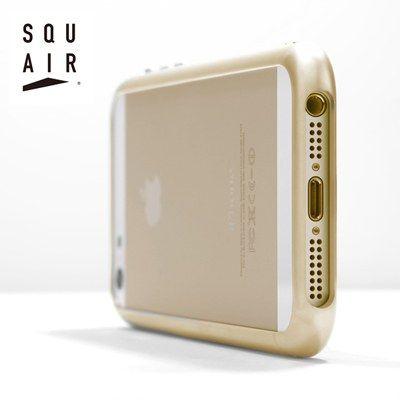 【期間限定セール】超々ジュラルミンA7075を使ったiPhone5/5s専用の金属製バンパー「SQUAIRカービシャスバンパー」