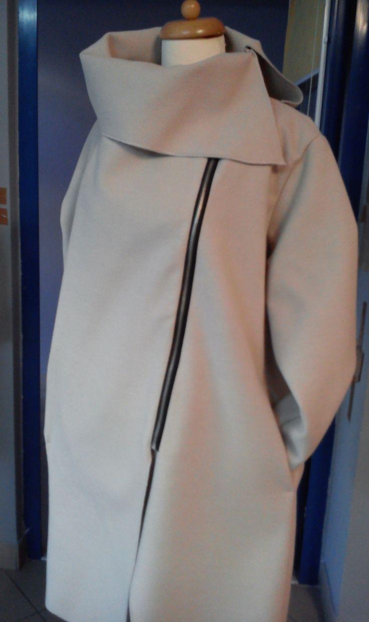 płaszcz jasny