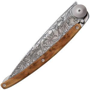 Deejo -  Juniper Art Nouveau Tattoo 37g Knife