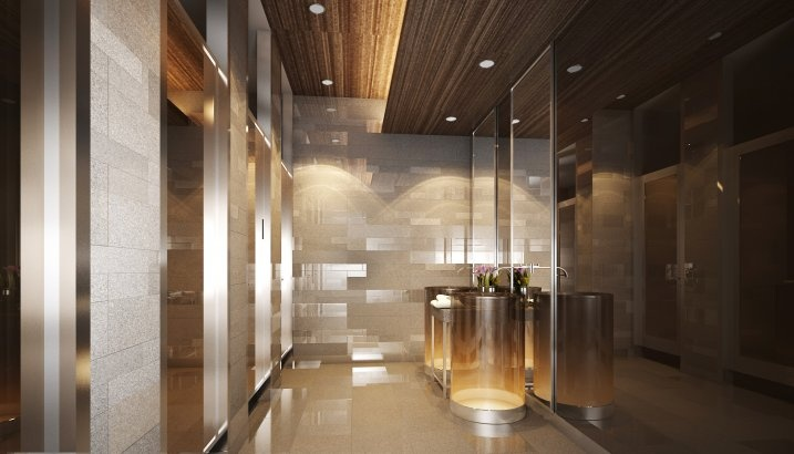 1000 images about public restroom on pinterest toilets for Modern washroom designs