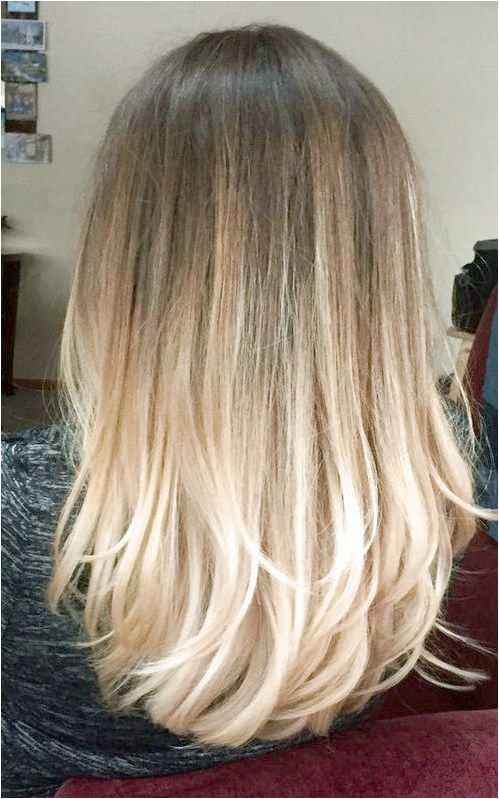 Perfect bayalage brunette blonde long hair 2017 #BraidsForMediumLengthHair Like …