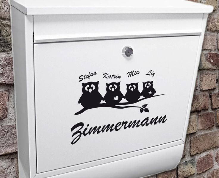 die besten 25 namensschild briefkasten ideen auf. Black Bedroom Furniture Sets. Home Design Ideas