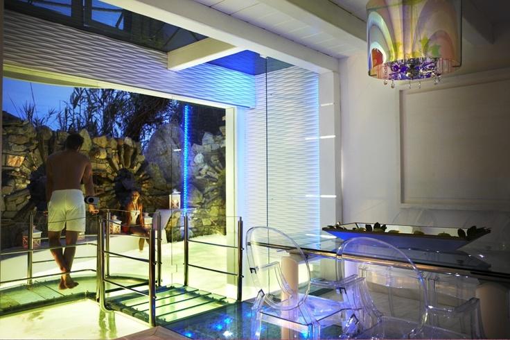 Noah's Mykonos Villa, Lower Floor..