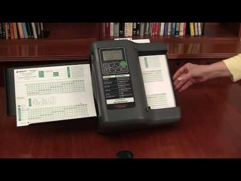 how to use a scantron machine