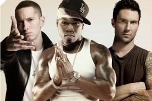 50 Cent feat Eminem & Adam Levine - My life | MusicLife