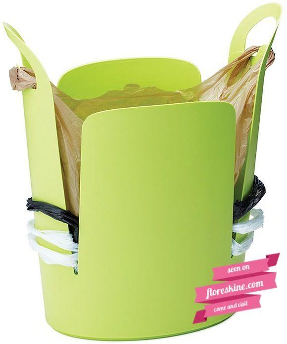 Pattumiera Ecologica (Urbano Eco Trash Can)  Conservare le buste da riutilizzare in modo pratico, utile e intelligente!