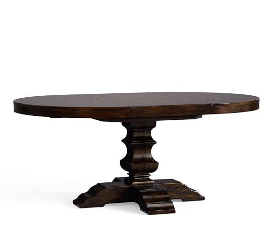 Banks Extending Pedestal Dining Table | Pottery Barn