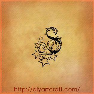 Lettere tattoo: 9 singole A | F | G | J | K | L | S | T | V S-tattoo-diyartcraft – tattoo diyartcraft