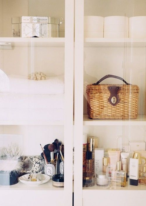 bathroom storage cabinet: Bathroom Design, Interior, Powder Room, Organization, Bathroom Storage, Bathroom Idea, Bathroom Cabinets