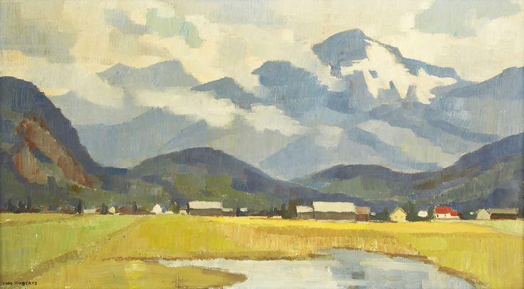Tom Roberts; Morning, Fraser Valley, BC