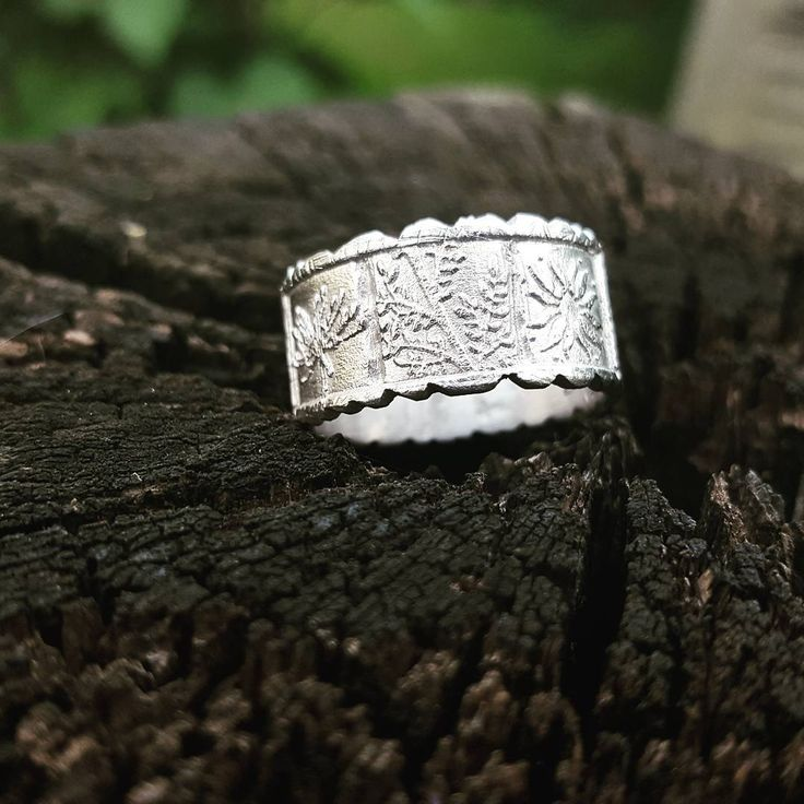 "88 Likes, 4 Comments - Sandra Žitnik (@sandrazdesign) on Instagram: ""This is a ring i made for my friends wife. He wanted to give her a ring with simbols that represent…"""