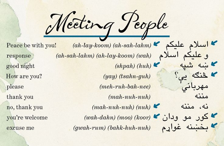 Perhaps you have an undiscovered passion for Pashto? Take a minute to enjoy the beautiful sounds of this language!