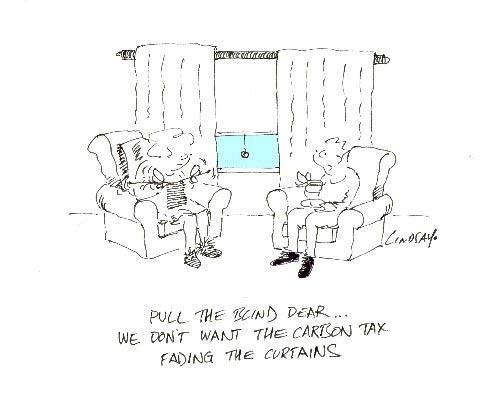Carbon Tax by Lindsay Foyle
