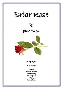 a novel analysis of briar rose by jane yolen Briar rose by yolen, jane and a great selection of similar used, new and collectible books available now at abebookscom.