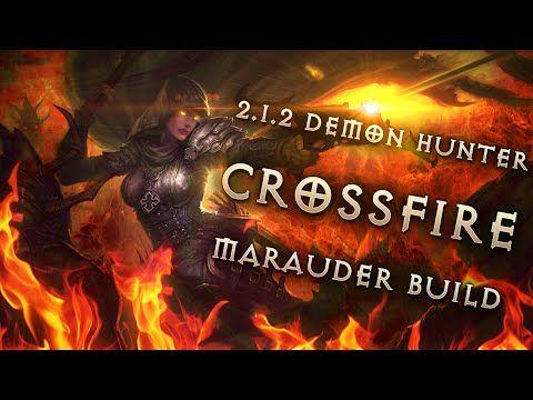 Best 2.1.2 Demon Hunter Build & Gear: Fire Marauder - Diablo 3 Reaper ...