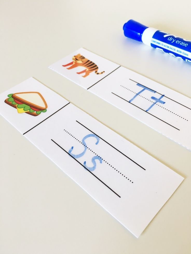 Need a quick phonics activity for your guided reading lessons? Try these initial sounds strips - just place them in the center of the table and have students choose one at a time. They write the capital and lowercase form of the letter, wipe it off, and then complete another one! (From Guided Reading Lesson Plans and Resources for Level A) $