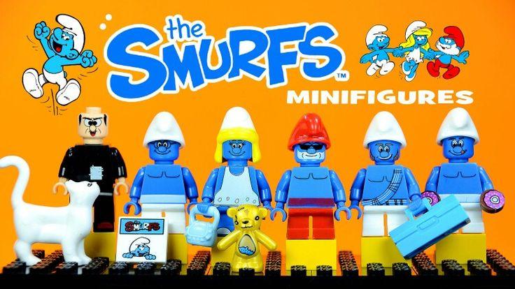 smurfs lego