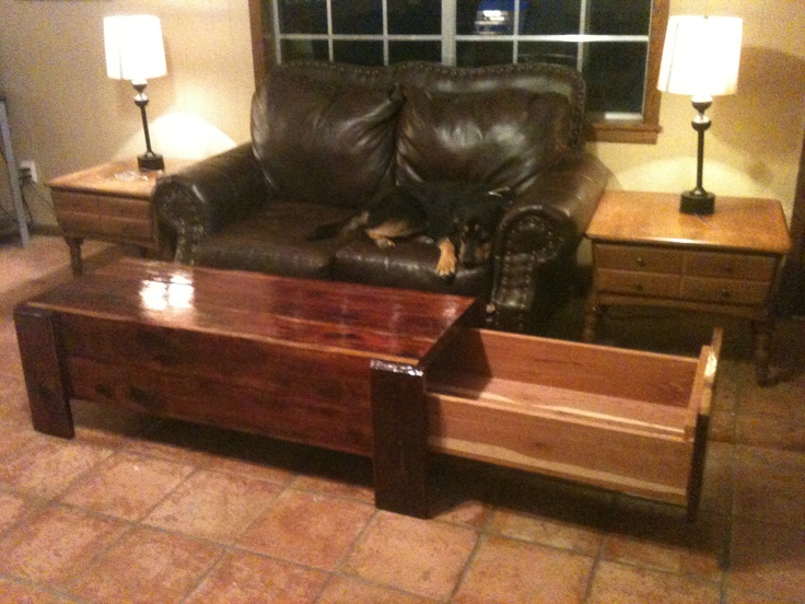 9 best ideas about concealment furniture on pinterest for Long coffee table with storage