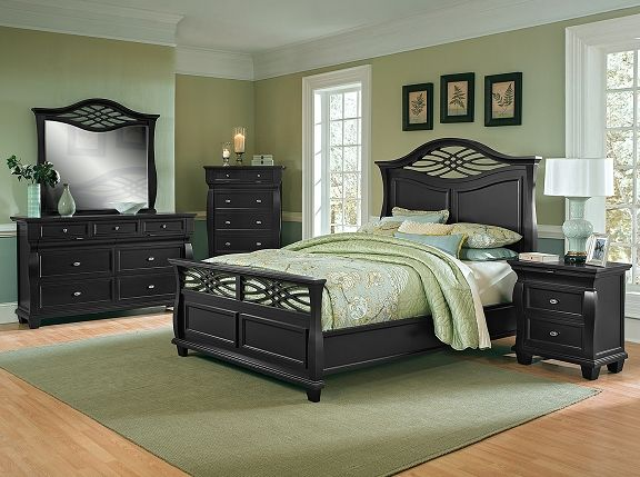 American Signature Furniture   Artisan II Bedroom Collection Queen Bed