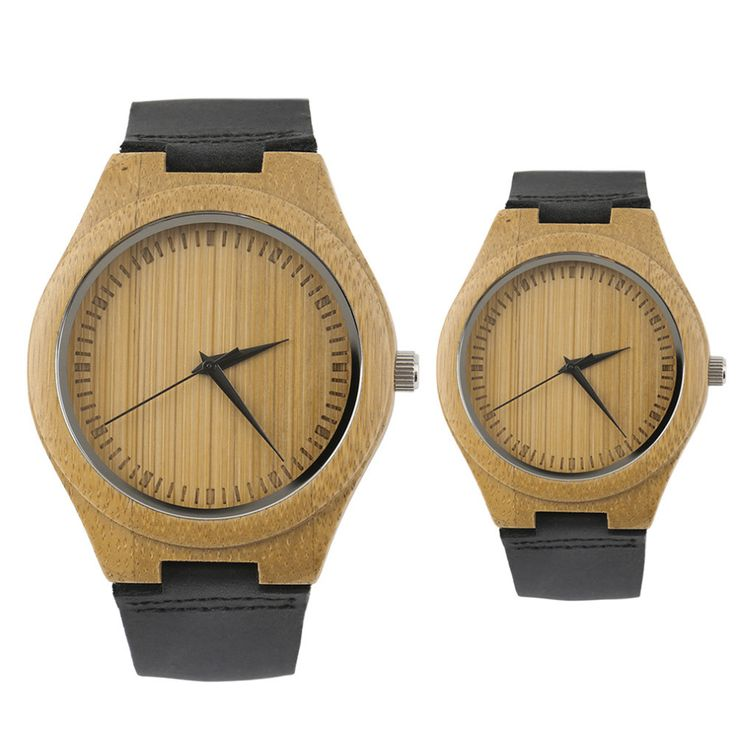 unique vintage wooden quartz watches